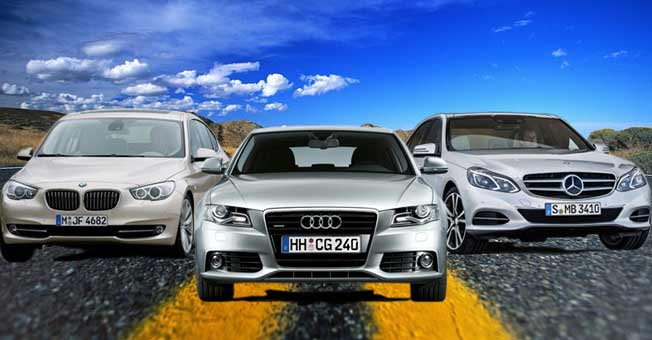 audia4-bmwv-mercedeseclass-on-rent